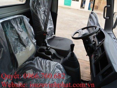 nội thất xe isuzu 13 tấn chassis