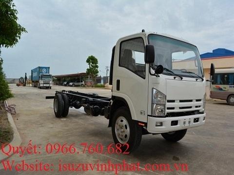 xe isuzu 13 tấn chassis fn129