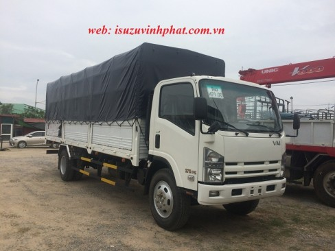 xe tải isuzu 8 tấn 2 mui bạt