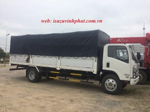 xe tải isuzu 8 tấn thùng bạt FN129