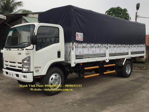 xe tải isuzu 8.2 tấn mui bạt