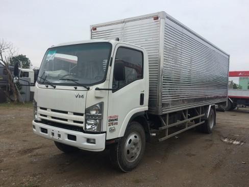 xe tải isuzu 8 tấn thùng kín fn129