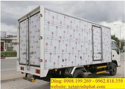 xe tải isuzu 3.5 tấn thùng bạt