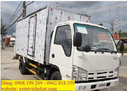 xe tải isuzu 3.5 tấn thùng kín QHR650