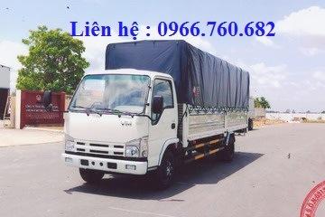 xe tải isuzu 1.9 tấn thùng dài 6m2 NK490SL4