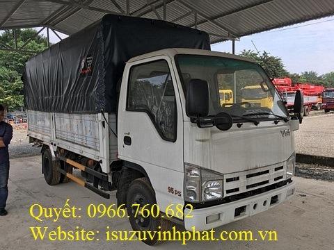 xe tải isuzu 3.5 tấn mui bạt