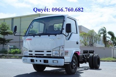 xe tải isuzu 5 tấn chassis nk490s4