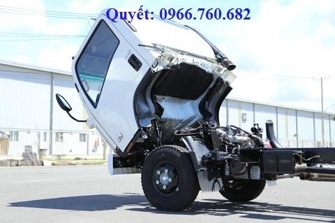 xe tải isuzu 13 tấn chassis FN129L4