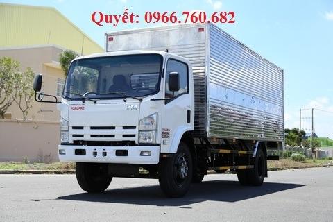 Xe tải isuzu 8 tấn thùng kín FN129E4