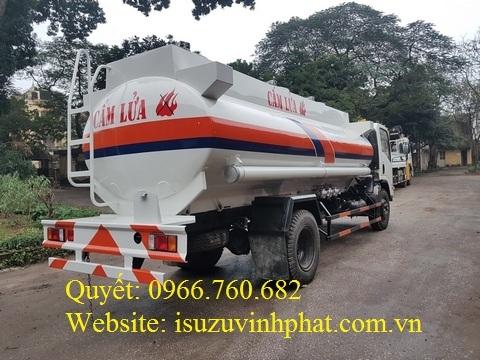 xe xitec chở xăng dầu isuzu 11 khối