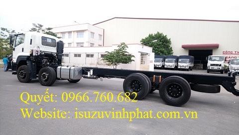 xe tải isuzu 4 chân chassis